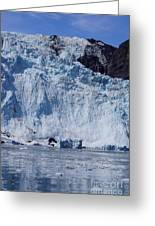 Mighty Holgate Glacier Greeting Card