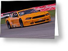 Mighty Mustang Greeting Card