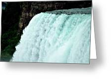 Mighty Niagara Falls Greeting Card