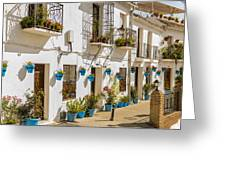 Mijas - Costa Del Sol   Spain Greeting Card