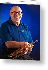 Mike Vax Professional Trumpet Player Photographic Print 3771.02 Greeting Card