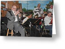 Mike Vax Professional Trumpet Player Photographic Print 3773.02 Greeting Card