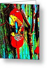 Mike's Art Fence 128 Greeting Card