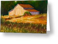 Mike's Barn Greeting Card