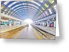 Milan Train Station Greeting Card