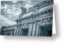 Milano Centrale II Greeting Card