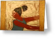 Mildred - Tile Greeting Card