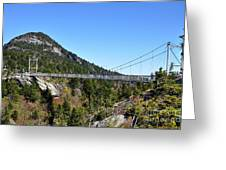 Mile-high Bridge Greeting Card