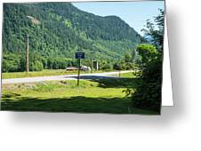 Mile Marker 100 Greeting Card