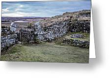 Milecastle 37 Greeting Card