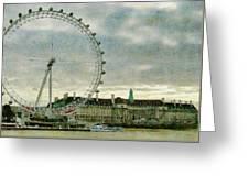 Milennium Wheel Greeting Card