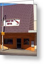 Miles City, Montana - Downtown Greeting Card