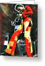 Miles Davis - 08 Greeting Card