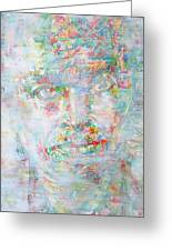 Miles Davis - Watercolor Portrait.4 Greeting Card