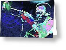 Miles Jazz Greeting Card