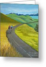 Miles To Go Greeting Card