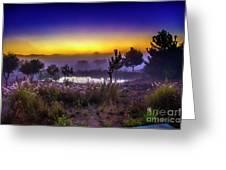 Milfontes Sunrise Greeting Card
