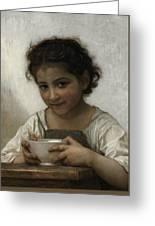Milk Soup Greeting Card