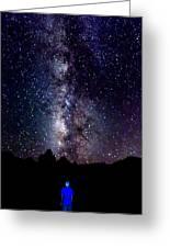 Milky Way 9962 Greeting Card