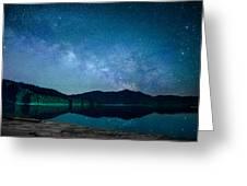 Milky Way Morning Greeting Card