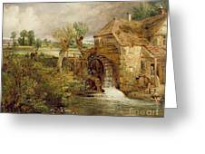 Mill At Gillingham - Dorset Greeting Card