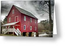Mill At Whitewater Cree Greeting Card