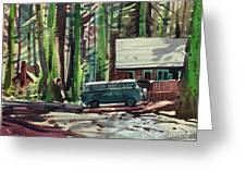 Mill Creek Camp Greeting Card