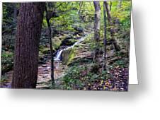 Mill Creek Falls Greeting Card