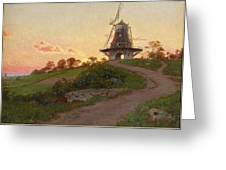 mill in Molle Greeting Card