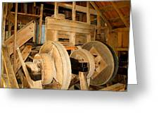 Mill Mechanism Greeting Card