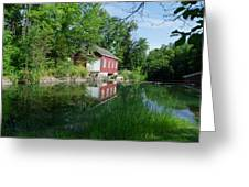Mill Pond Greeting Card