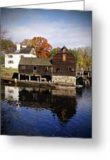 Mill Reflections Greeting Card
