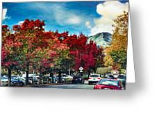 Mill Valley Autumn Greeting Card