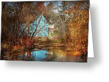 Mill - Walnford, Nj - Walnford Mill Greeting Card