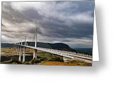 Millau Viaduct Greeting Card