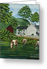 Milldale In Staffordshire Greeting Card