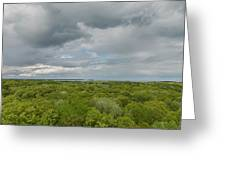 Mille Lacs Tower View 1 Greeting Card