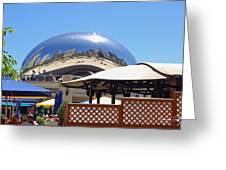 Millenium Park - Slice Of Chicago Greeting Card