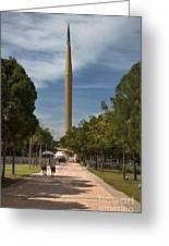 Millennium Monument Greeting Card