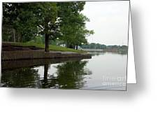 Miller Park Lake Greeting Card