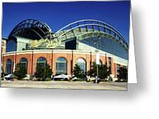 Miller Park - Milwaukee Wisconsin Greeting Card