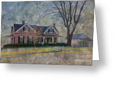 Miller-seabaugh House  Greeting Card