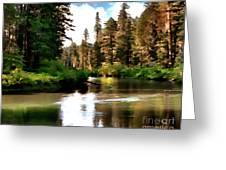 Millers Creek Painterly Greeting Card