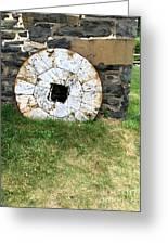 Milling Wheel Greeting Card