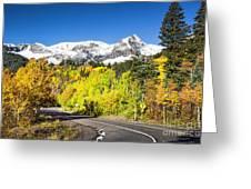 Million Dollar Highway Greeting Card