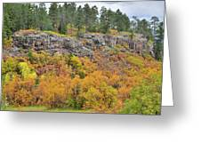 Million Dollar Highway Fall Color Greeting Card