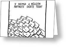 Million Orders Greeting Card