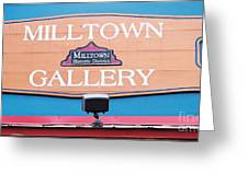 Milltown Gallery Greeting Card