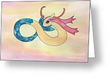 Milotic Greeting Card