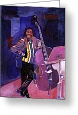 Milt Hinton Jazz Bass Greeting Card